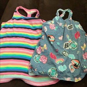 LOT OF CHILDRENS PLACE TANKS